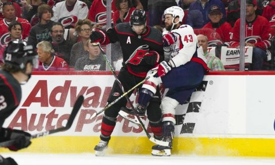 Hurricanes Control Capitals to Force Game 7