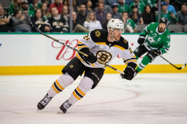 Bruins right wing Jordan Szwarz