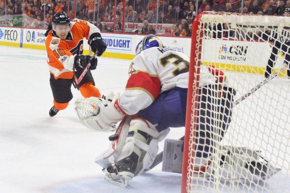 Jordan Weal Philadelphia Flyers