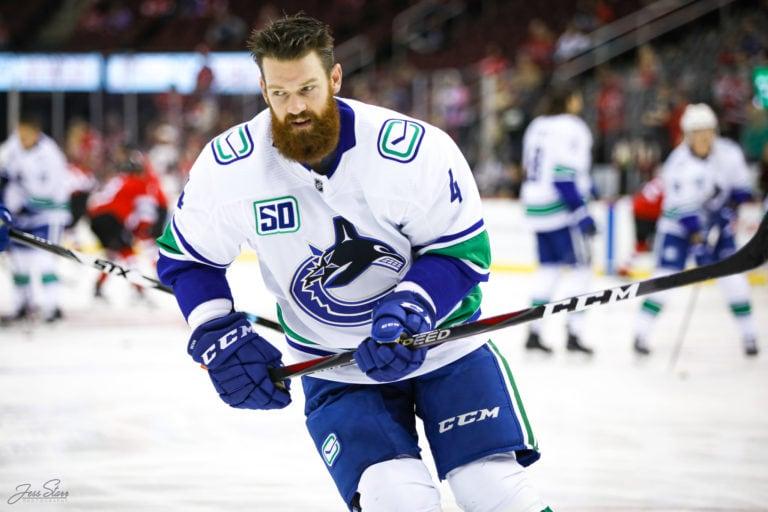 Jordie Benn Vancouver Canucks
