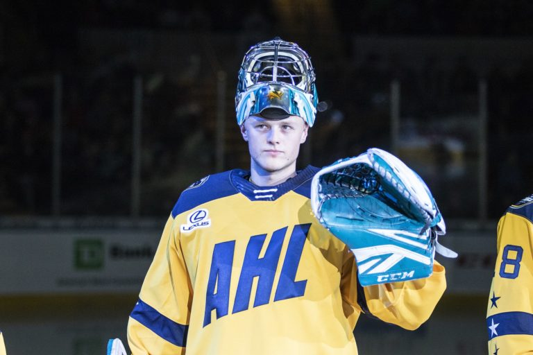 Josef Korenar AHL All-Stars