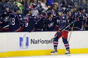 Josh Anderson has been one of the Blue Jackets most consistent players. (Russell LaBounty-USA TODAY Sports)