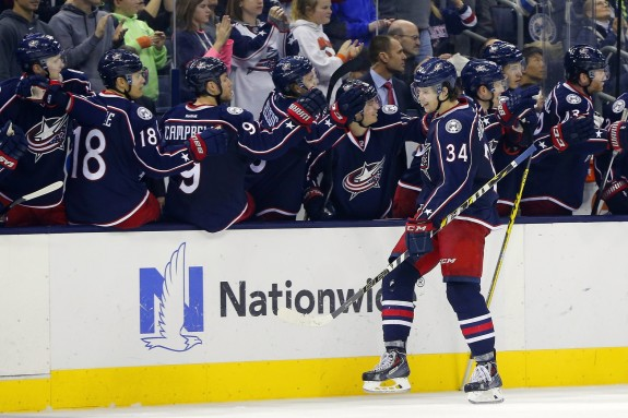 With a lot of the same players returning, can the Blue Jackets improve from 27th place? (Russell LaBounty-USA TODAY Sports)
