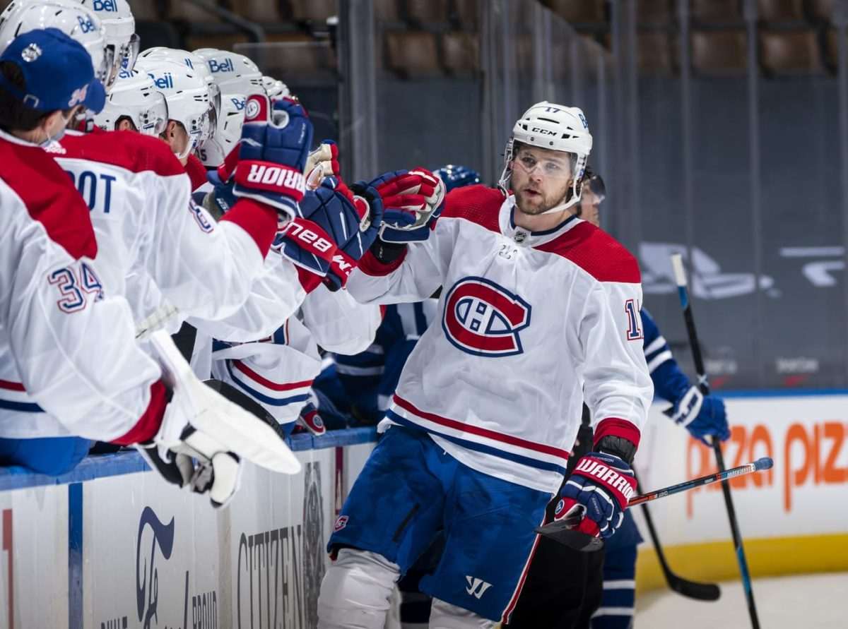 Josh Anderson Montreal Canadiens