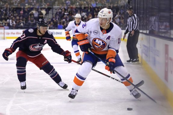 Islanders right wing Josh Bailey