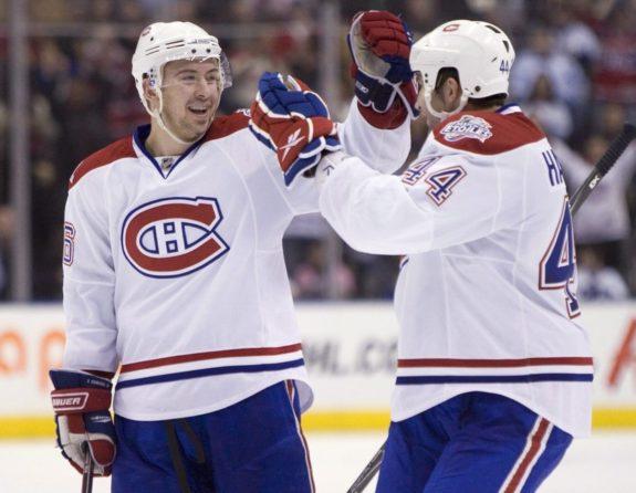 Montreal Canadiens Josh Gorges Roman Hamrlik