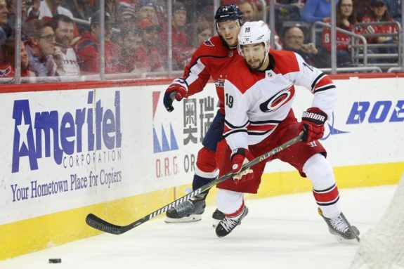Josh Jooris Carolina Hurricanes 2018