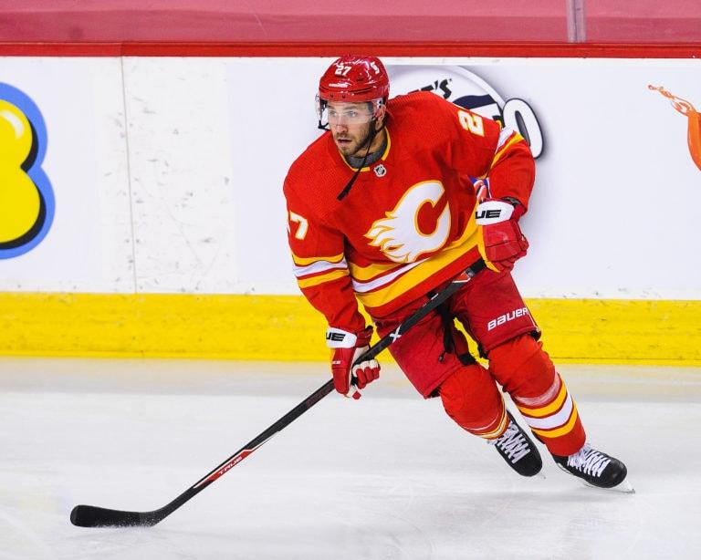 Josh Leivo Calgary Flames
