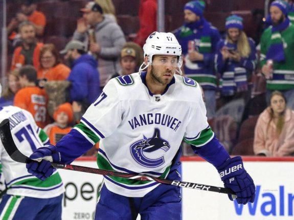 Josh Leivo Vancouver Canucks