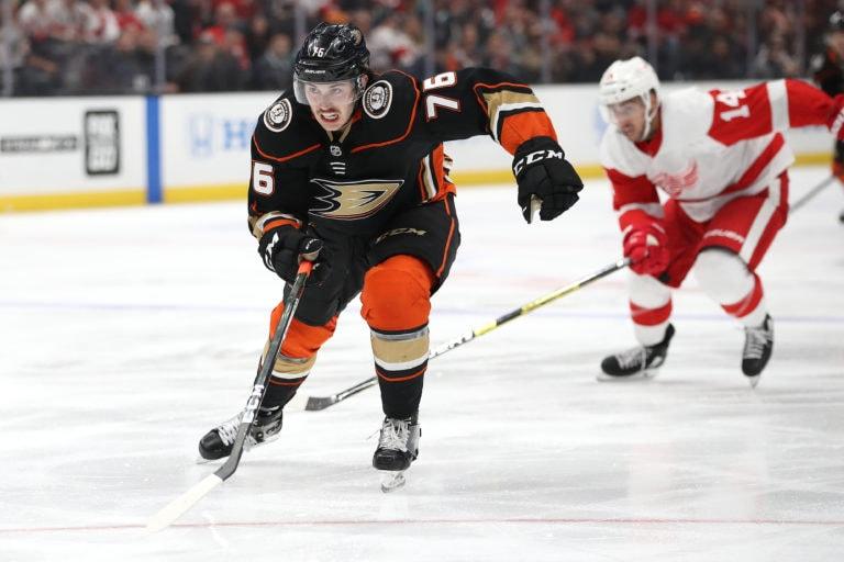 Josh Mahura Anaheim Ducks