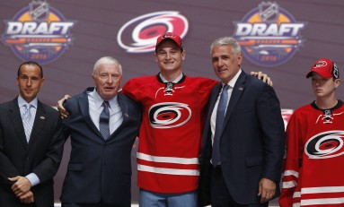 Hurricanes Give Julien Gauthier Entry-Level Deal