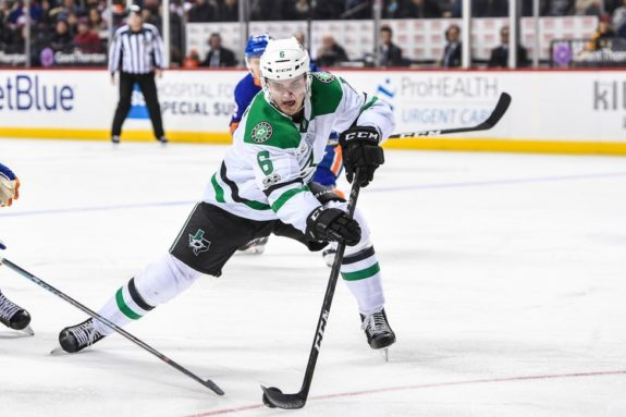 Stars defenseman Julius Honka