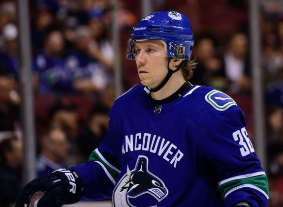 Canucks forward Jussi Jokinen