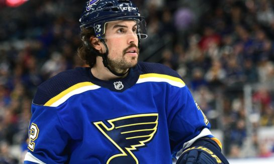 Looking at the Blues' 2020-21 Blue Line