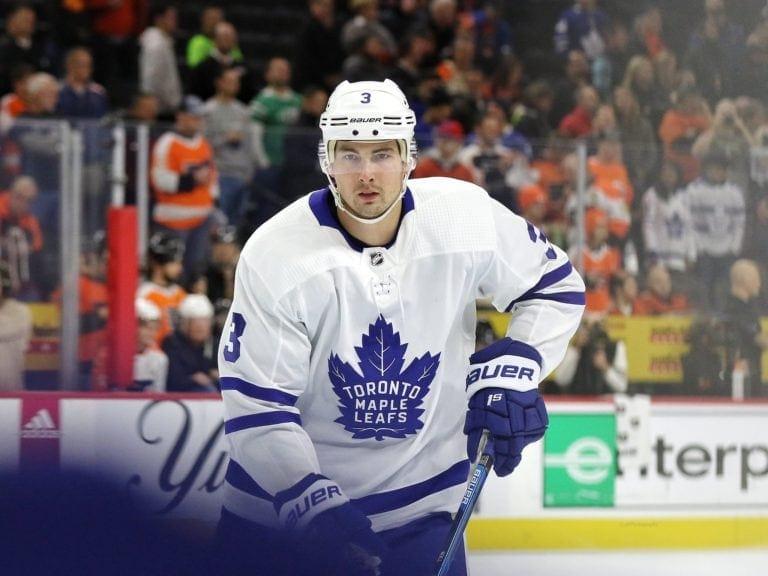 Justin Holl Toronto Maple Leafs