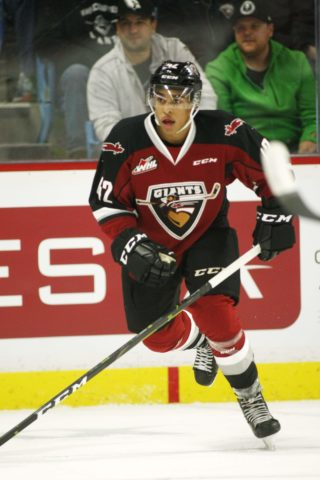 Justin Sourdif Vancouver Giants