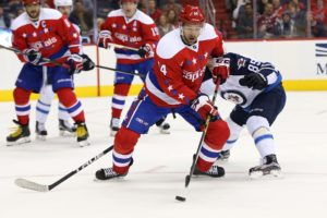 Washington Capitals right wing Justin Williams (Geoff Burke-USA TODAY Sports)
