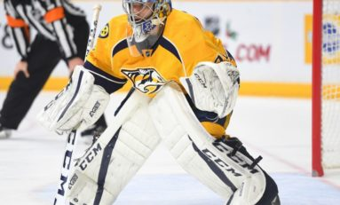 Predators' Saros Will Push for Playoff Playing Time