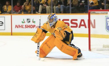 Predators' Goalie Situation Not as Seamless as Expected