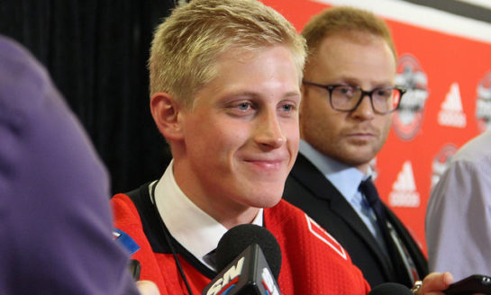 Flames Prospects Gawdin & Valimaki Primed to Earn a Spot on the Roster