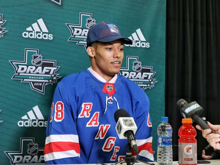 K'Andre Miller New York Rangers Draft