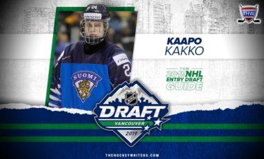 Rangers Pick Kaapo Kakko #2 Overall