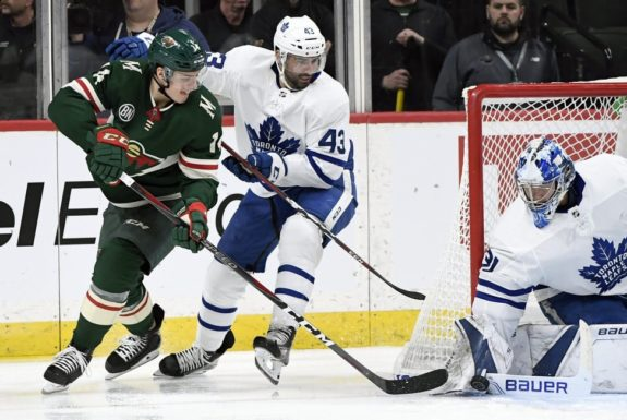 Maple Leafs Minnesota Wild