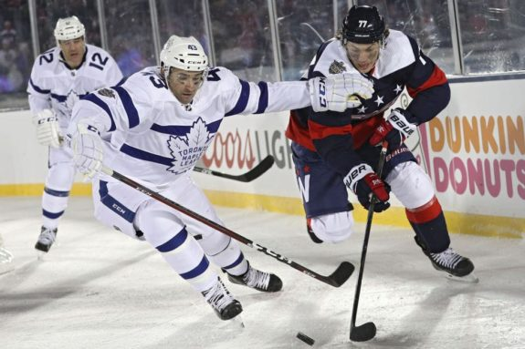T.J. Oshie, Washington Capitals, Nazem Kadri, Toronto Maple Leafs