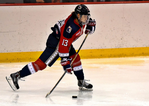 Kaleigh Fratkin of the New York Riveters. (Photo Credit: Troy Parla)