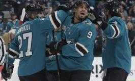 Sharks Attack Oilers - Kane & Donskoi Each Score 2