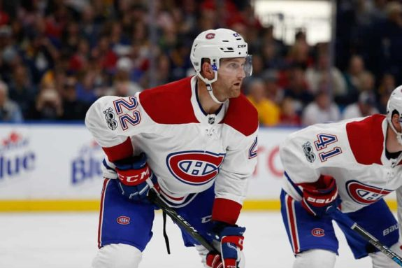 Montreal Canadiens defenseman Karl Alzner