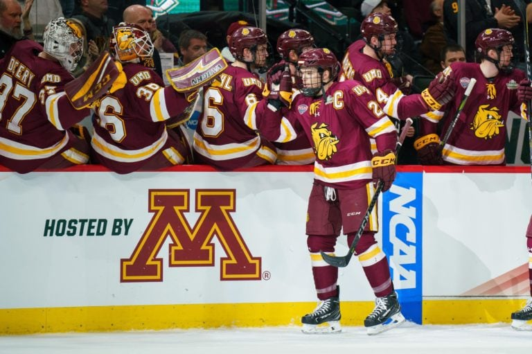 Karson Kuhlman Minnesota-Duluth Bulldogs Bruins