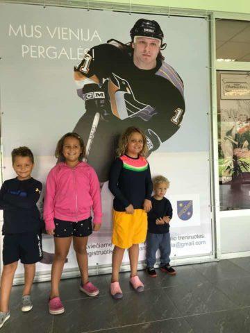 Darius Kasparaitis' children