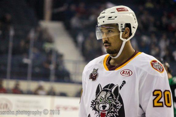 Keegan Kolesar Chicago Wolves