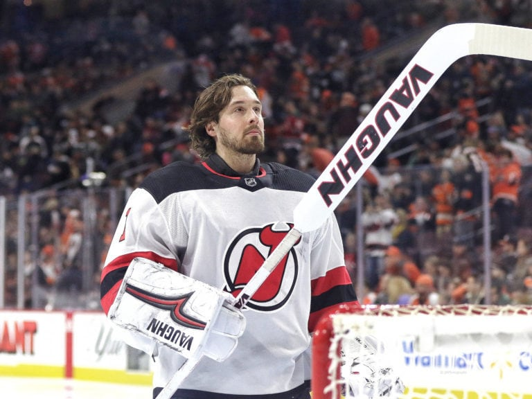 Keith Kinkaid #1, New Jersey Devils