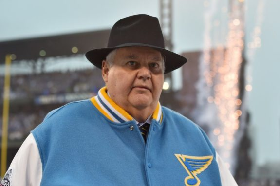 Former Blues coach Ken Hitchcock