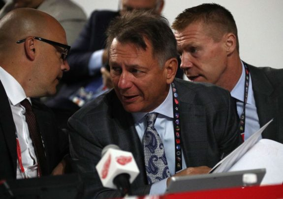 General manager Ken Holland - Detroit Red Wings