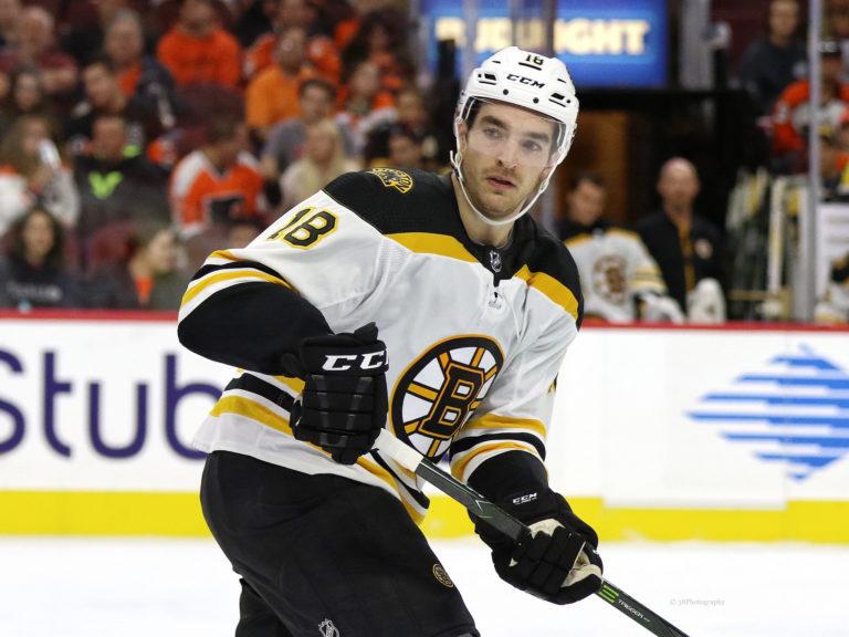 Kenny Agostino Boston Bruins