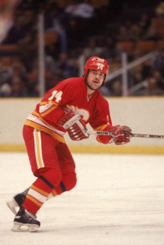 Kent Nilsson Calgary Flames