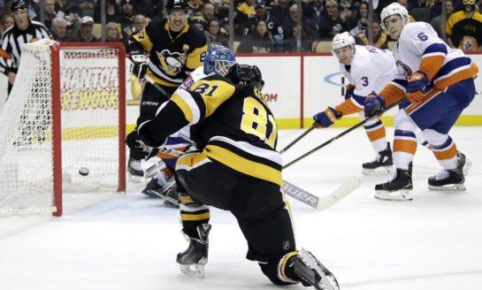 Penguins Drown Islanders - Kessel & Letang Score Twice