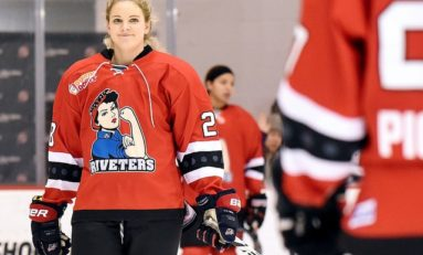 Kessel Dishes Out 5 Assists in Riveters Romp