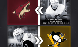Coyotes Acquire Kessel in Blockbuster Deal