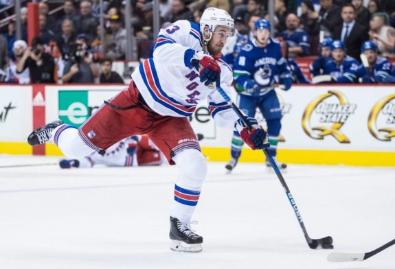 New York Rangers' Kevin Hayes