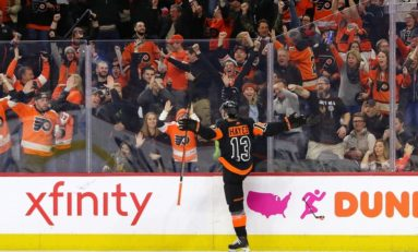 Flyers Getting Their Money's Worth in Hayes
