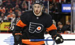 Kevin Hayes Scores in OT, Flyers Beat Ducks 2-1