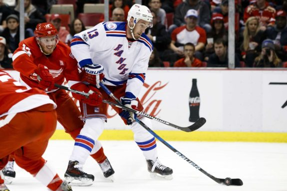 New York Rangers center Kevin Hayes