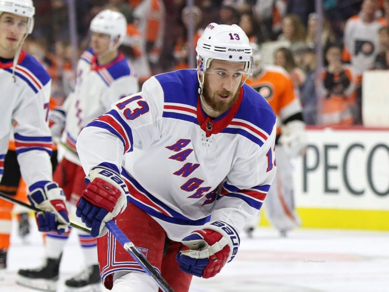 Kevin Hayes Rangers