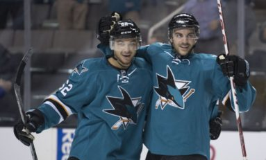 Recap: Sharks Weather Hurricanes' Shot Storm in 4-3 Win