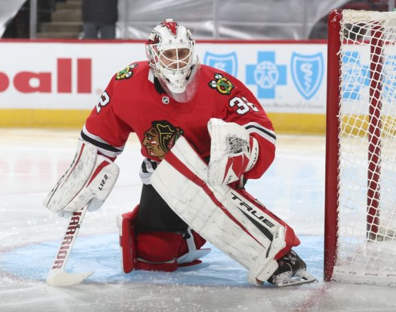 Kevin Lankinen Chicago Blackhawks