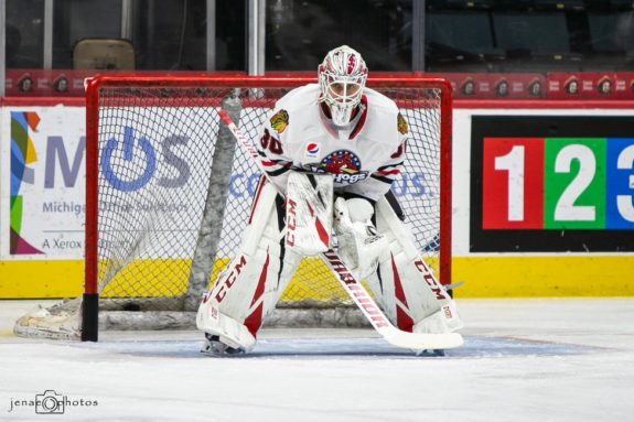 Kevin Lankinen Rockford IceHogs